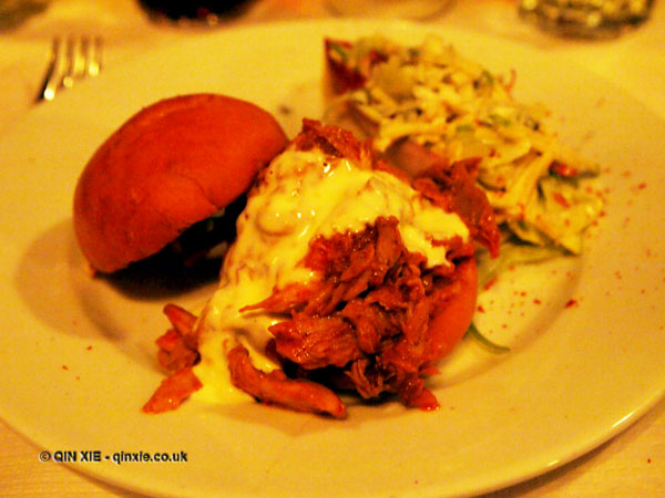 Young and Foodish's Burger Monday at Joe Allen, Covent Garden, dinner